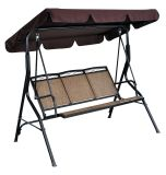 3 Person/Seater Textilene Garden Swing Chair