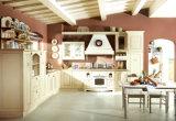 2017 Solid Wood Kitchen Cabinet, Solid Wood Kitchen Furniture (zq-022)