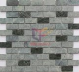 Green Strip Wall Used Stone Tile Mosaic (CFS1125)