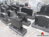 American Black Granite Monument / Headstones with Angel Carving