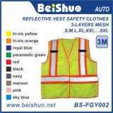 High Quality Reflective Vest Safety Clothes with High Visibility
