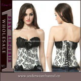 Sexy Floral Lingerie Ladies Sexy Corset for Adult (7377)