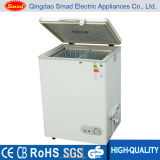 3.5 Cu. Feet White Chest Freezer Top Load Small Freezer