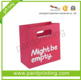 New Design Pink Shopping Paper Bag (QBC-1402)