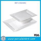 Classical White Square Wholesale Ceramic Plates