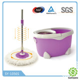 Double Devices Stainless Steel Basket 360 Spin Mop (SY-702S)