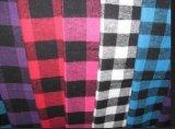 Cotton /Pajamas Sleepwear/ Shirt /Check Flannel Fabric