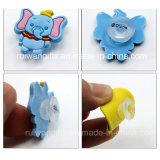 Elephant Soft PVC Kids Shoe Buckles