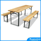 Fsc Fir Wood Wooden Beer Table Set