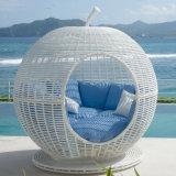 Spherical Dome Sunshine Lounge Beach Circular Garden Furniture Rattan Sun Daybed T579