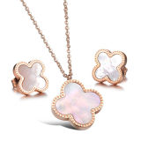 925 Sterling Silver Earrings and Pendants Jewelry Set