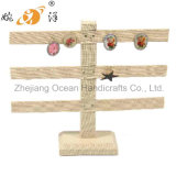 Wooden Structure Jewelry Display Shelf (252-3)