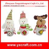 Christmas Decoration (ZY13G140-1-2-3 23CM) Christmas Factory Decorative Items