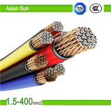 0.6/1kv XLPE Insulated PVC Jacket 16mm2 Electric Power Cable