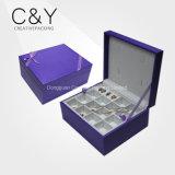 Purple Women Love Leather Jewelry Gift Box