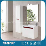 New Model Wall Hung MDF Bathroom Furniture with Certificate (SW-1322)