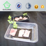 OEM Accept Wholesale Disposable Plastic Serving Tray Frozen Food Packaging