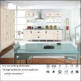 White UV High Glossy Kitchen Cabinet (ZH096)