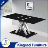 Manufacturer Glass Metal Chromed Legs Coffee Tables