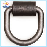 Heavy Duty Forged Carbon Steel D Ring with Bracket