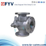 API Three-Way Flanged Ends Ball Valve
