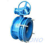 Expansion Flange Electric Actuators Butterfly Valve