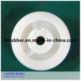 White Medium Duty Nylon Wheel Castor for Trolley