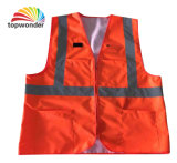 Customize Double Layer Reflective Safety Vest, Reflective Safety Garment, Reflective Safety Clothes
