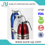 New Zinc Alloy Handle Double Wall S/S Thermos Flask Vacuum Coffee Jug (JSBG)