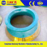 High Manganese Casting Cone Crusher Parts