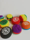 Cheap Cotton Thread Knitted Kick Ball for Promotional