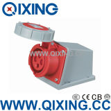 Industrial Female Surface Mounted Socket for Industrial Application (QX-1196)