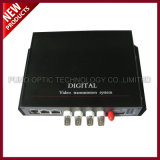 1 CH video+1 CH Reverse Data Digital Video Optical Transitter and Receiver