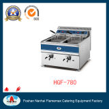 Hot Sale Double Tank Commercial Gas/Electric Fryer (HGF-780)