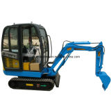 Yanmar Engine 1.8 Tons Small Excavator CE Certificate Similar Bobcat with Two Year Warranty