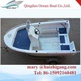 4.6m 15FT Deep-V Hull Aluminum Material Sailing Boat for Fisherman