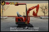 China Mini Digger 800kg Cheap Digger for Sale
