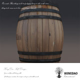 Hongdao Wholesale Dark Color Pine Oak Wood Wine Barrel _E
