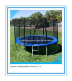8FT Kids Outdoor Trampoline Jumping Toy