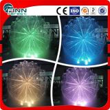 Outdoor LED Light Dandelion Shape Small Fountain