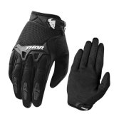 Black Hot Sale Cross-Country Racing Motorcycle Gloves (MAG58)