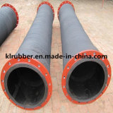 High Quality Flanged Large Diameter Rubber Water Suction Hose