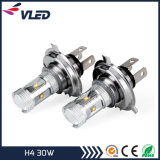 LED Car Fog Light H4 30W Canbus with Aluminum