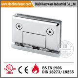 Stainless Steel Glass Holder for Internal Doors
