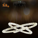 Three Rings 20+40+60cm LED Cheap Crystal Chandeliers