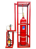 Automatic Pipe Network Fire Extinguisher System FM200 for Computer Room