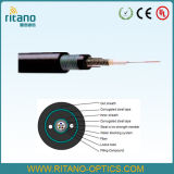 Armored and Sheathed Double Central Loose Tube Cable (GYXTW53)