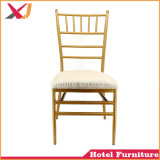 High Quality Steel Aluminum Hotel Restaurant Dining Wedding Banquet Chiavari Chair
