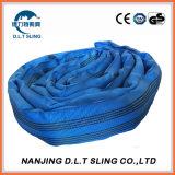 8 Tons Pes Round Sling Endless Lifting Sling En Standard
