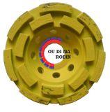 Diamond Double Rows Cup Wheel for Polishing Stones